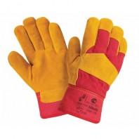 Перчатки 2HANDS RL2 Спилковые комбинированные утепленные 0385-11-RU