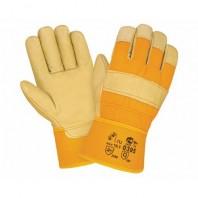 Перчатки 2HANDS Кожаные комбинированные 0395