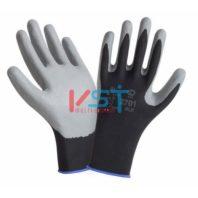 Перчатки 2HANDS нейлон с нитрилом Air 2701BLK/GR