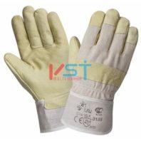Перчатки 2HANDS Кожаные комбинированные 0155