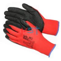 Перчатки нейлоновые с текстурированным латексным покрытием L2001