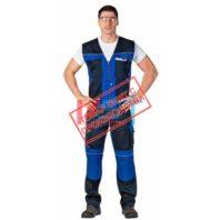 Жилет CERVA СТАНМОРЕ 101-0180-01 темно-синий с васильковым