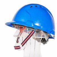 Каска защитная JSP ЭВО 8 с вентиляцией синяя AHU150-000-500