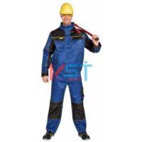 Куртка ДЮРАН 101-0236-01 темно-синий с черным и желтым