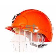 Каска защитная JSP ЭВО 3 ШАХТЕРСКАЯ AJE169-300-600 красная