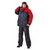 Куртка РУССКАЯ АЛЯСКА 103-0002-01 черный с красным