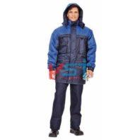 Куртка ДРАЙВ 103-0070-01 темно-синий с васильковым