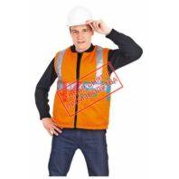 Жилет СВЕТОЗАР 104-0020-01 флуоресцентный оранжевый