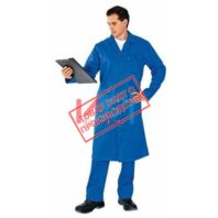 Халат ТЕХНИК 101-0007-53 васильковый
