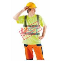 Футболка КВАНТ 104-0023-02 флуоресцентный желтый