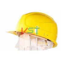 Каска защитная UVEX Термо Босс 9754 желтая