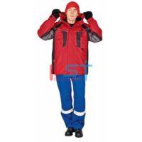 Куртка CERVA НАЙАЛА 103-0084-03 красный
