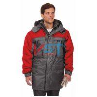 Куртка ДРАЙВ 103-0070-02 серый с красным