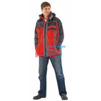 Куртка НЕВАДА зимняя красный с черным