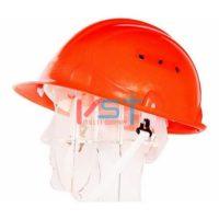 Каска защитная ТРУД оранжевая