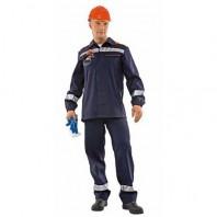 Костюм ХИМОГАРД 111-0005-35 темно-синий с оранжевым