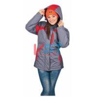 Куртка ЛЕДИ СПЕЦ 103-0096-01 серый с красным