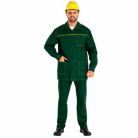 Костюм БАЙКАЛ-1 рабочий мужской 101-0087-03 зеленый