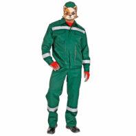 Костюм БАЛТИКА-1 рабочий летний 101-0095-03 зеленый