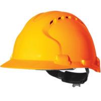 Каска защитная JSP ЭВО 8 с вентиляцией оранжевая AHU150-000-800