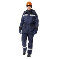 Костюм МОНБЛАН-ЛЮКС зимний утепленный мужской 103-0025-04
