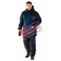 Куртка САБВЕЙ 103-0121-02 синий с черным