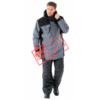 Куртка САБВЕЙ 103-0121-01 серый с черным