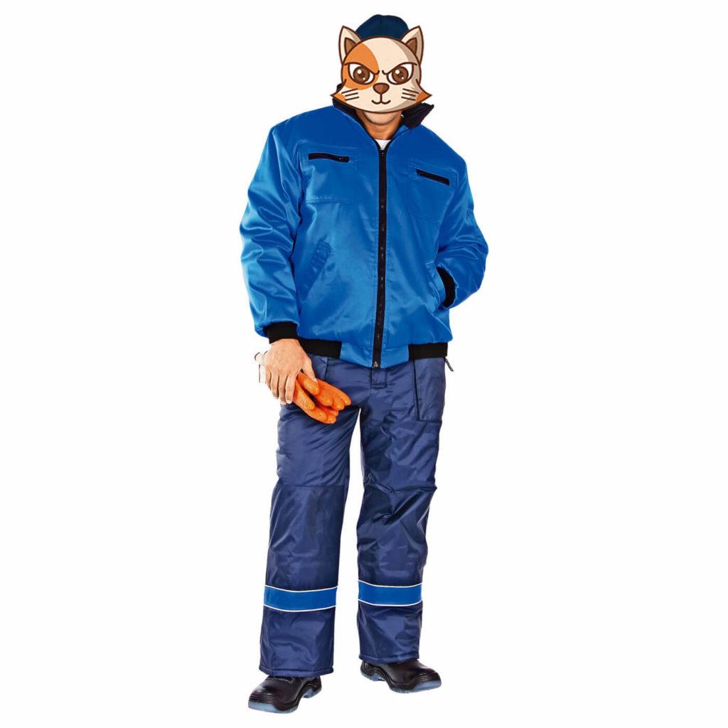 Куртка ДОКЕР утепленная зимняя мужская 103-0045-53