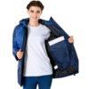 Куртка МАРКА зимняя рабочая вид изнутри