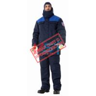 Костюм ЭЛЕКТРА ЗН-24 (КУР+П/К) 113-0058-01 темно-синий