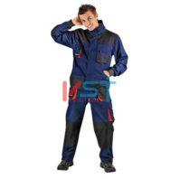 Куртка CERVA ЭМЕРТОН НЭВИ 101-0193-01 синий с черным