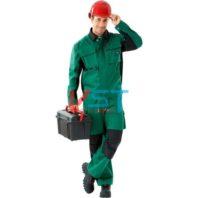 Куртка СПЕЦ-АВАНГАРД 101-0081-03 зеленый с черным