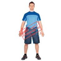 Шорты CERVA СТАНМОРЕ 101-0175-01 темно-синий с васильковым