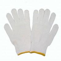 Перчатки ХБ 10 класс 3 нити белые без ПВХ