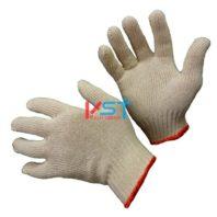 перчатки ХБ 10 класс 4 нити белые без ПВХ