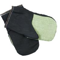 Х/б рукавицы утепленные с брезентовым наладонником 019