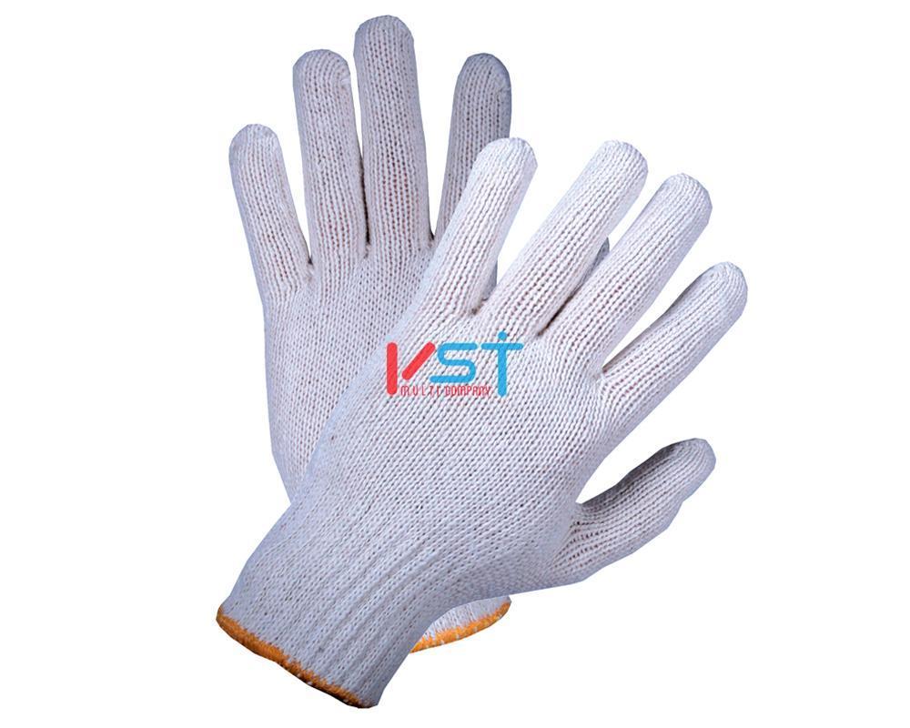 перчатки ХБ 7,5 класс 7 нитей белые без ПВХ