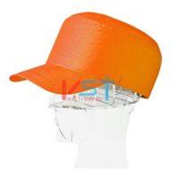 Каска-бейсболка КАСКЕТКА оранжевая