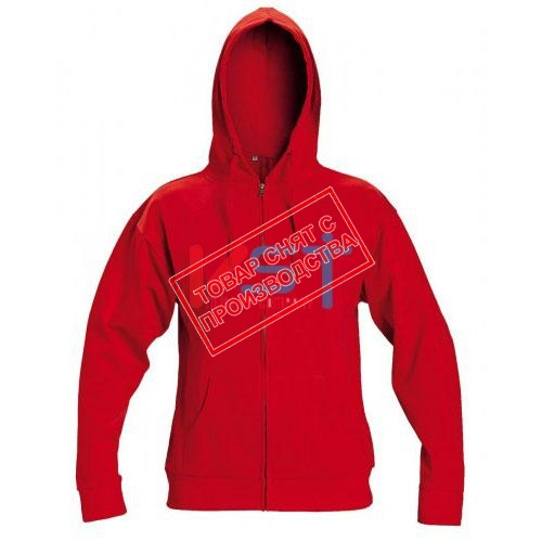 Куртка CERVA НАГАР с капюшоном красная
