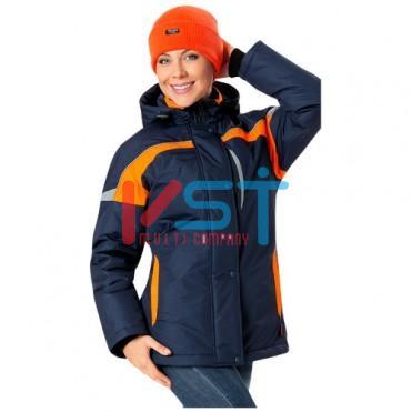Куртка ЛЕДИ СПЕЦ 103-0096-02 синий с оранжевым