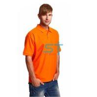 Рубашка CERVA ПОЛО ДХАНУ-К 101-0249-07 оранжевый