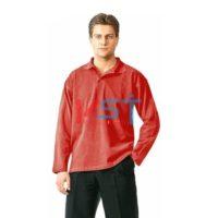 Рубашка ПОЛО-Д 101-0023-04 красный