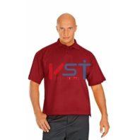 Рубашка ПОЛО-К 101-0002-59 бордовый