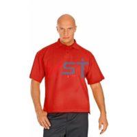 Рубашка ПОЛО-К 101-0002-04 красный