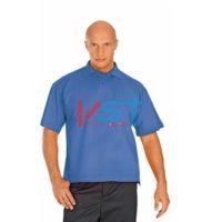 Рубашка ПОЛО-К 101-0002-53 васильковый
