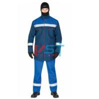 Куртка-накидка ЭЛЕКТРА КН-27 СО 113-0015-02 васильковый с красным