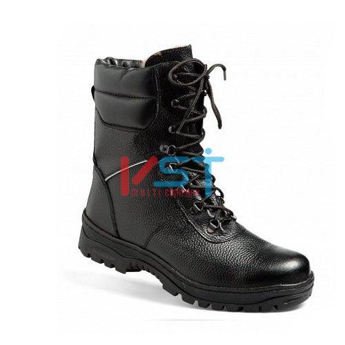 Ботинки кожаные АЛЬПЫ меховые 5.093