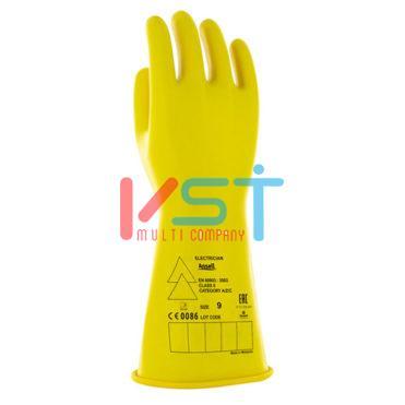 Перчатки ANSELL MARIGOLD ELECTRICIAN: Класс 0