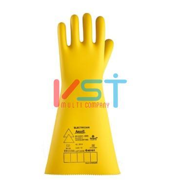 Перчатки Ansell Marigold Electrician: Класс 3