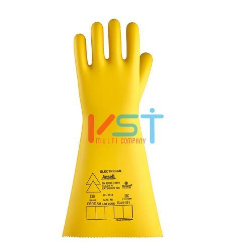 Перчатки Ansell Marigold Electrician: Класс 4